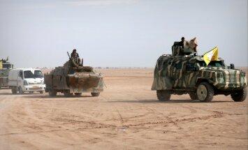 Karte: Kurdi beidzot iebrūk džihādistu citadelē Rakā