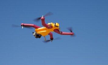 'AirDog' komanda savu produktu izrāda ASV