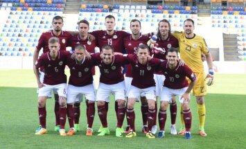 Latvijas futbola izlase sasniedz savu visu laiku sliktāko pozīciju FIFA rangā