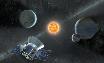 NASA palaiž 'planētu mednieku', kas meklēs planētas ārpus Saules sistēmas