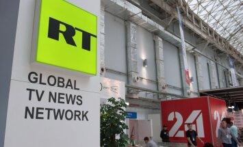 RT reģistrējusies ASV ārvalstu aģenta statusā