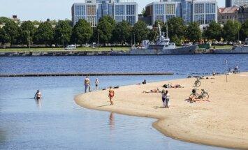 В Риге из-за сине-зеленых водорослей не рекомендуется купаться только на Кипсале