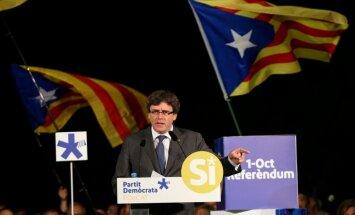 Katalonijas premjeram draud ar cietumu