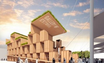 Foto: Igauņi jau izvēlējušies sava 'World Expo 2015' paviljona dizainu