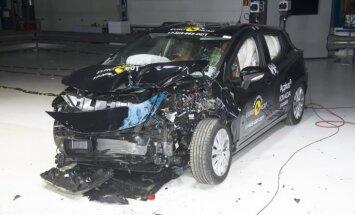 Jauno 'Nissan Micra' drošībā 'EuroNCAP' novērtē ar piecām zvaigznēm