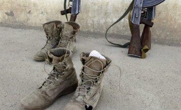 Afgāņu karavīrs uzbrukumā bāzē ievainojis septiņus ASV karavīrus