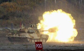 Rietumvalstu īpatsvars ieroču tirdzniecībā samazinās, Krievijas un Āzijas - pieaug
