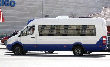 Вступили в силу изменения в расписании маршруток Риги