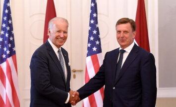 Вейонис: Байден сказал, что Латвия находится в очень важном месте