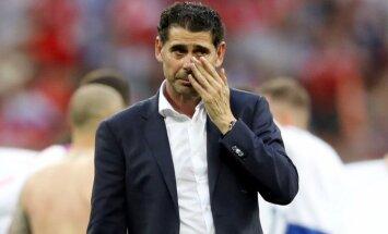 Ijerro neturpinās vadīt Spānijas futbola izlasi