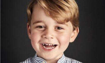 Фото принца Джорджа опубликовали к его четвертому дню рождения
