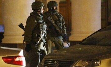 Krimā notiekošais ir Krievijas iebrukums, paziņo iekšlietu ministrs