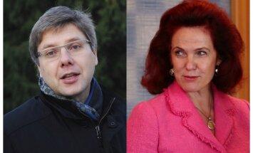 Iedzīvotāji apdāvinātu Ušakovu; Āboltiņai nestu žagarus, liecina aptauja