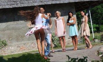 Foto: Mīlas šovu 'Netīrās dejas' atklās ar stringu zibēšanu