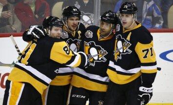 Pittsburgh Penguins Sidney Crosby, Phil Kessel, Trevor Daley, Evgeni Malkin