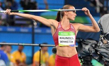 Ikauniece-Admidiņa uzsākusi sadarbību ar igauņu treneri Nazarovu