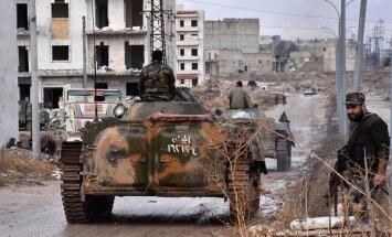 ES un ANO brīdina, ka bez sarunām Asada režīmam uzvarēt Alepo neizdosies