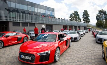 Ar jaunākajiem sportiskajiem modeļiem 'Audi' atgriežas Biķernieku trasē
