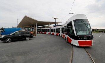 ФОТО: Из Таллиннского аэропорта до центра города можно добраться на трамвае