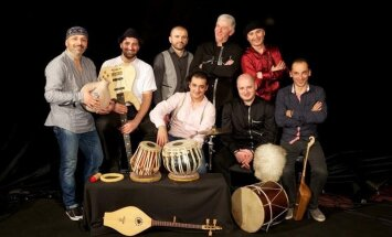 Pirmo reizi Latvijā uzstāsies gruzīnu etno džeza grupa 'Egari'