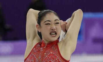 Foto: Olimpisko daiļslidotāju jokainās grimases un ērmīgās pozas