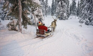 Īsto Ziemassvētku vecīti no Lapzemes bērni no Latvijas varēs satikt 5. decembrī