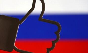 Krievija atkārtoti draud bloķēt 'Facebook'