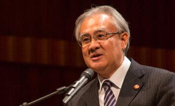 Ļoti vēlama Eiropas valstu iesaiste militārās mācībās Āzijā, norāda Japānas vēstnieks NATO