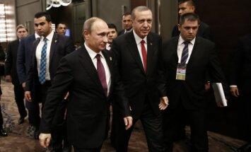 The Times: Путин и Эрдоган начинают делить Северную Сирию