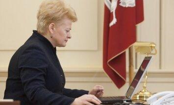 Lietuvai jānostiprina savs aizsardzības potenciāls arī informācijas laukā, saka Grībauskaite