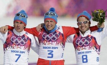 SOK diskvalificētajiem Krievijas distanču slēpotājiem liegts startēt arī Pasaules kausā