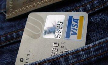 Sankcijas pret Krieviju: 'Visa' un 'MasterCard' pilnībā pārtrauc savu darbību Krimā