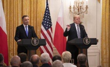 Duda aicina ASV atvērt 'Trampa fortu' Polijā