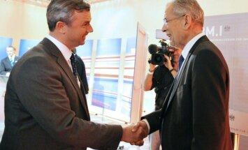 Austrijā atkārtotas prezidenta vēlēšanas rīkos 2. oktobrī