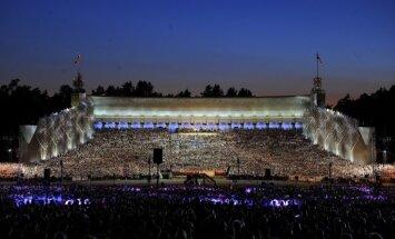 Dziesmu svētki 2013: Ar koncertu 'Līgo' izskan Dziesmu svētki