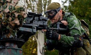 Eksperts: Ukrainā esošās Krievijas trieciengrupas gatavas sākt darboties