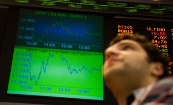 ASV biržu indeksi sasniedz rekordus; naftas cenas pieaug