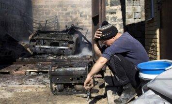 Kaujās Ukrainas austrumos krituši seši Ukrainas karavīri