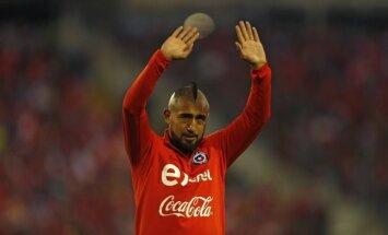 Arī Čīles pussargs Vidals atvadās no nacionālās valstsvienības