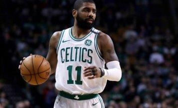 Komandas līderis Ērvings nevarēs palīdzēt Bostonas 'Celtics' izslēgšanas turnīrā