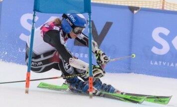 Gasūna izcīna 39. vietu PČ milzu slalomā, Zvejniekam veiksmīga kvalifikācija