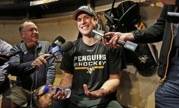 Krosbijs smadzeņu satricinājuma dēļ izlaidīs NHL sezonas pirmo maču