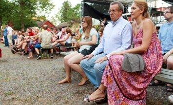 Foto: Ilvesu pāra vasaras festivālu stils