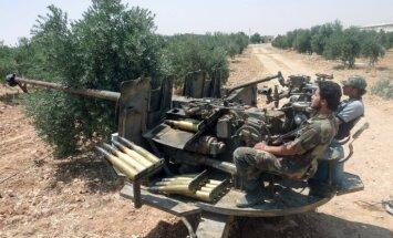 ASV jau šonedēļ varētu nolemt vai apbruņot Sīrijas nemierniekus