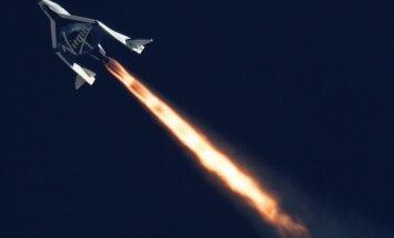 Foto: 'Virgin' kosmosa kuģis cieš katastrofu; viens bojāgājušais