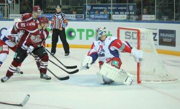 Rīgas 'Dinamo' izbraukumu turpina ar zaudējumu Jaroslavļā