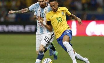 Argentina Lionel Messi, Brazil Neymar