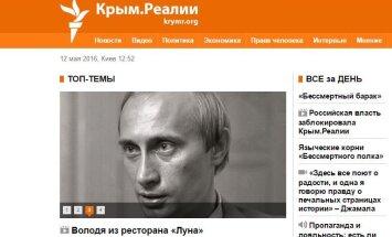 Krievijā bloķēta radio 'Brīvība' Krimas ziņu vietne