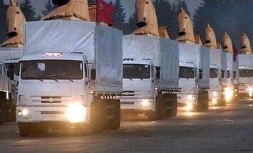 'Tviterī' izsmej Krievijas 'humāno konvoju'