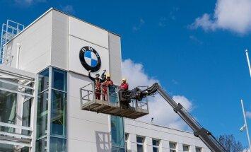 Rīgā durvis vērs Baltijā lielākais BMW auto centrs